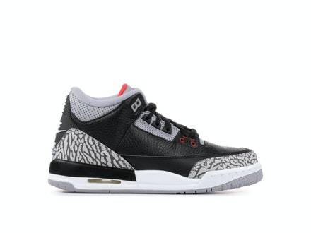 Air Jordan 3 Retro OG BG 2018 Black Cement