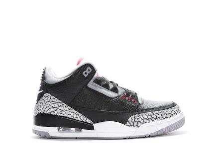 Air Jordan 3 Retro OG 2018 Black Cement