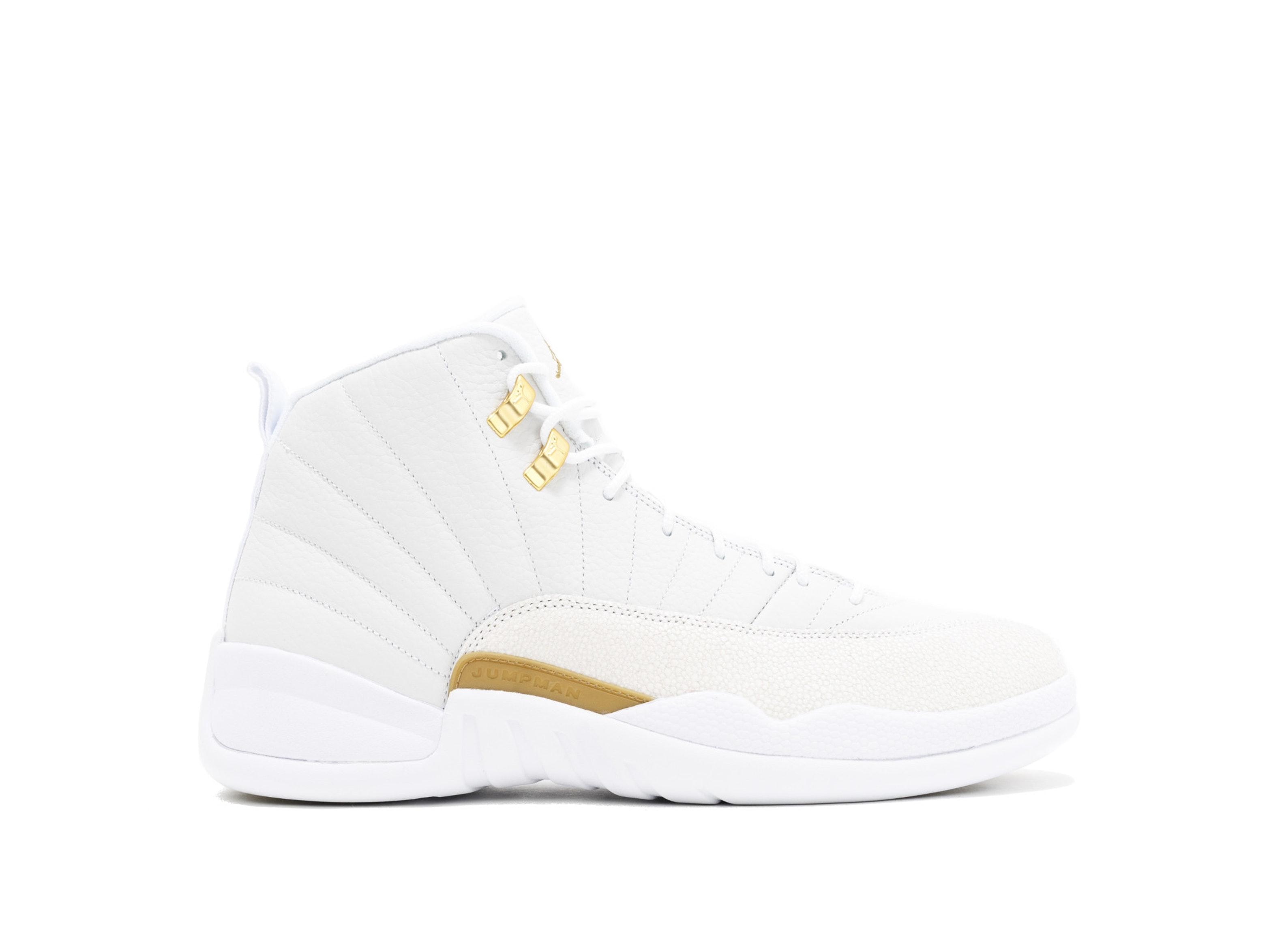 release date d3c2d 7f415 Air Jordan 12 Retro White x OVO