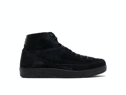 Air Jordan 2 Retro Deconstructed Triple Black
