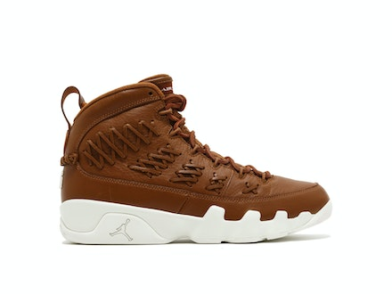 Air Jordan 9 Retro Pinnacle Baseball Glove Brown