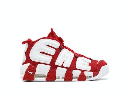 Air More Uptempo x Supreme Red