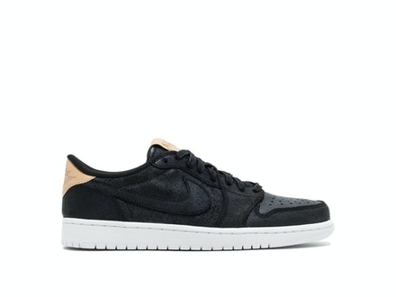 Air Jordan 1 Retro Low OG Premium Black Tan