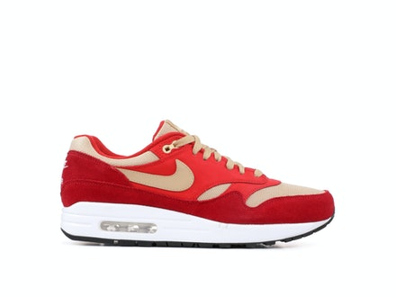 cheaper 98587 8b7cd Air Max 1 Premium Retro Red Curry
