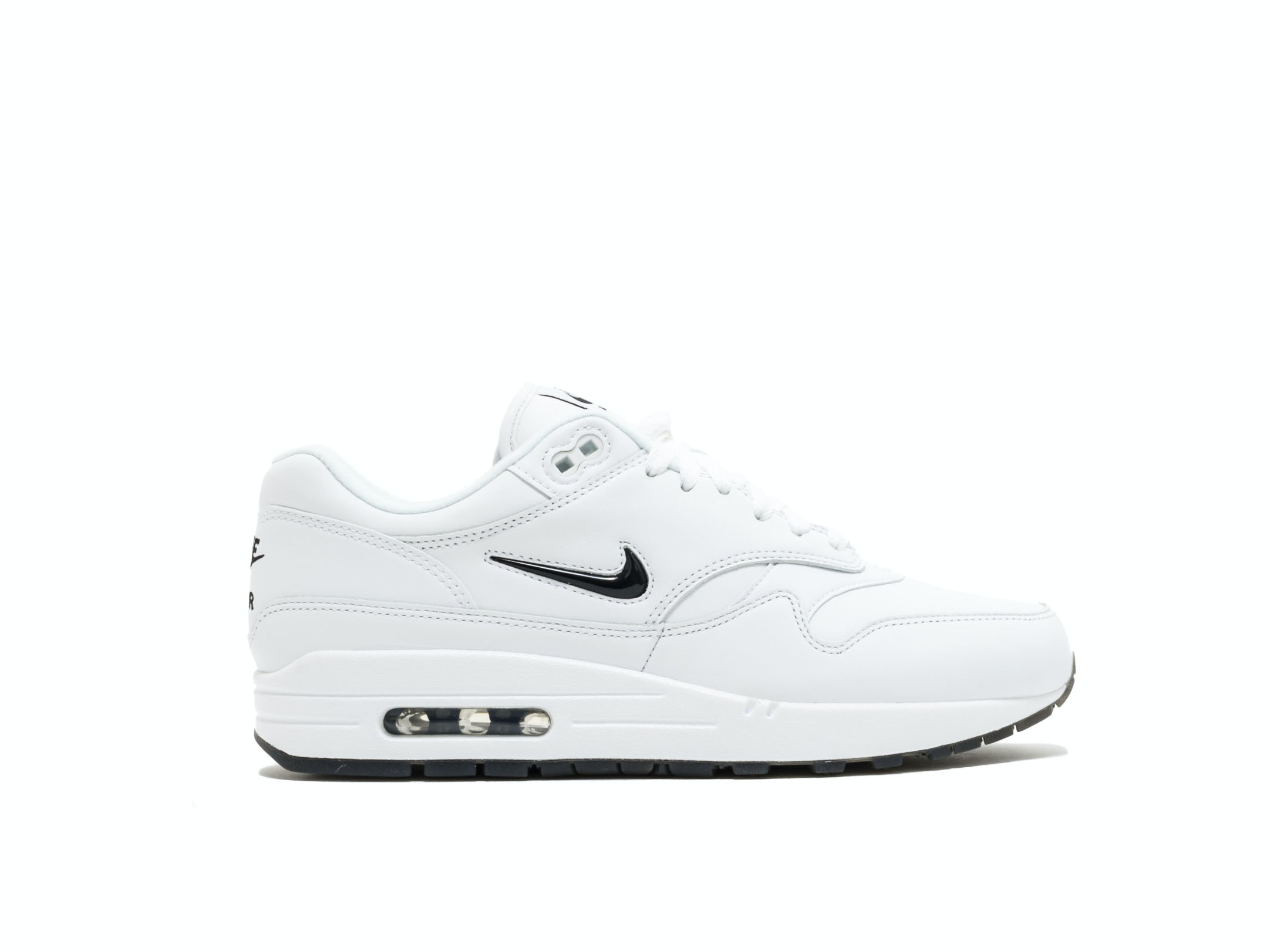 buy online 63837 91eee Air Max 1 Premium SC Jewel White Black