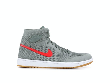 Air Jordan 1 Flyknit Clay Green