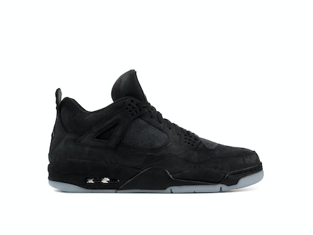 Air Jordan 4 Retro Black x KAWS