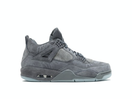 Air Jordan 4 Retro Cool Grey x KAWS