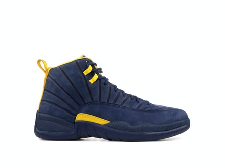 Air Jordan 12 Retro Michigan Wolverines PE x PSNY