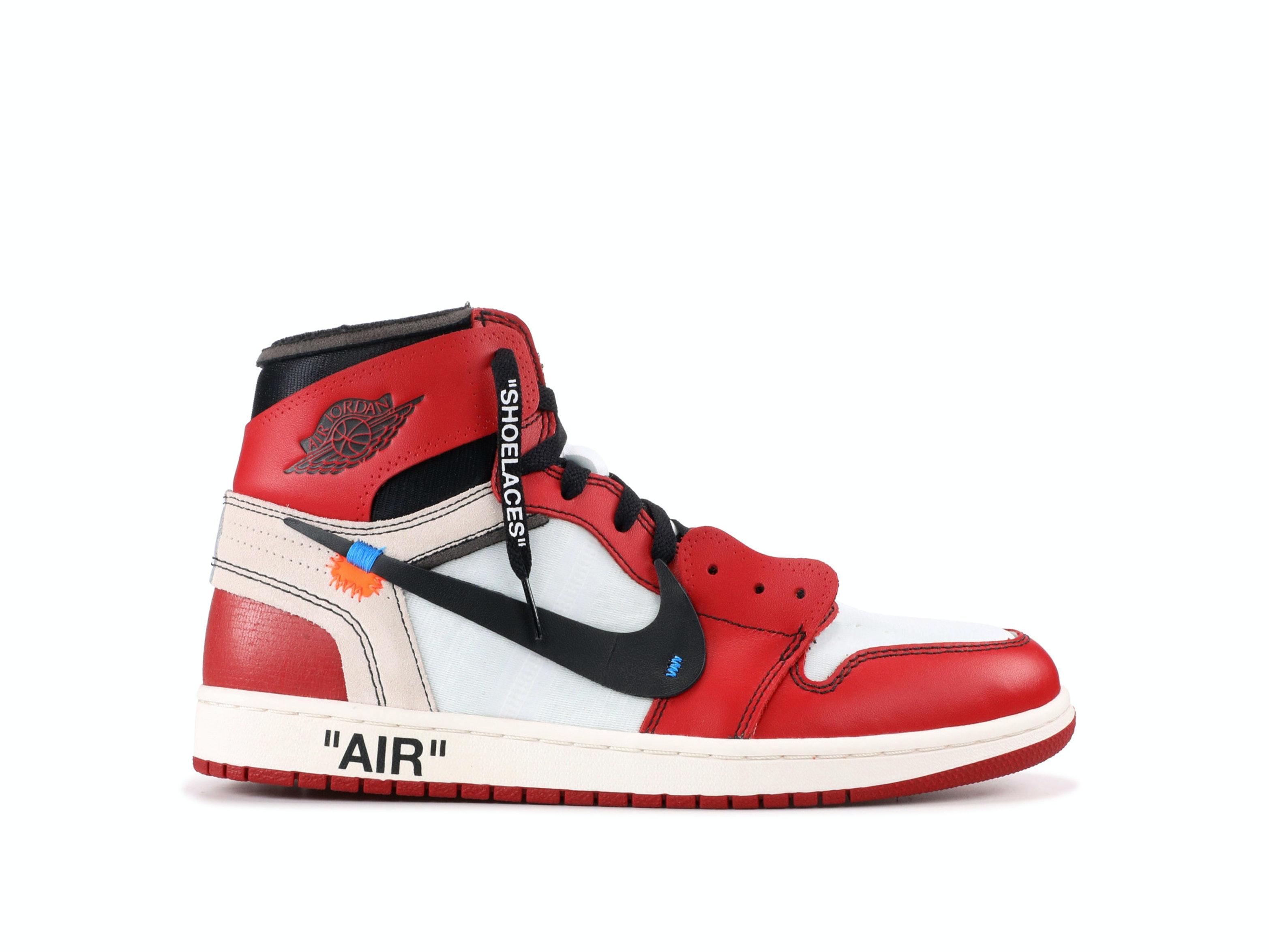 designer fashion fd9ac 74d1c Air Jordan 1 Retro High Chicago x Off-White