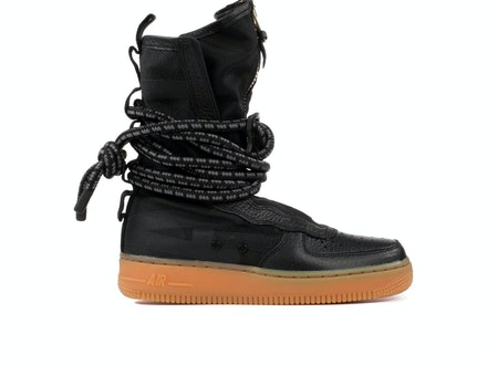 SF Air Force 1 High Black Gum (W)