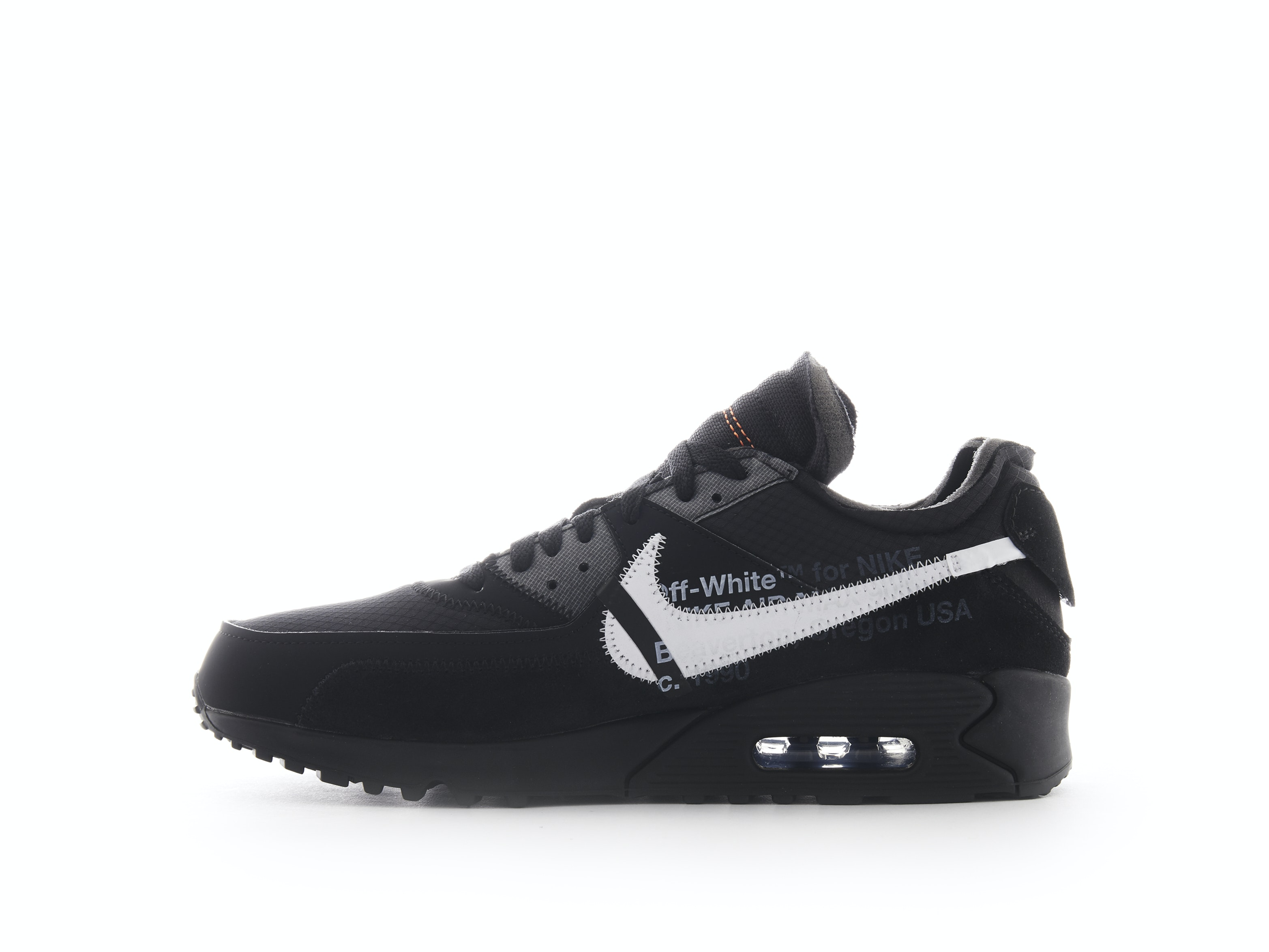 another chance 27c25 6bfe5 Air Max 90 Black x Off-White. 100% AuthenticAvg Delivery Time  1-2 days.  Nike   AA7293-001