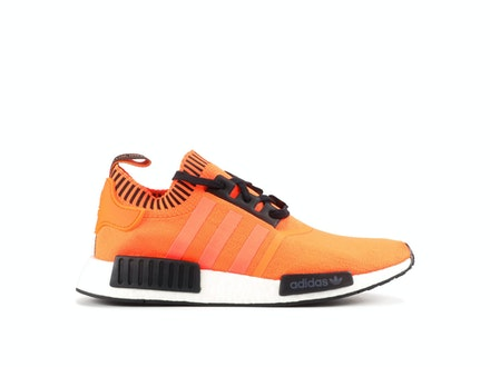 NMD R1 Primeknit Orange Noise