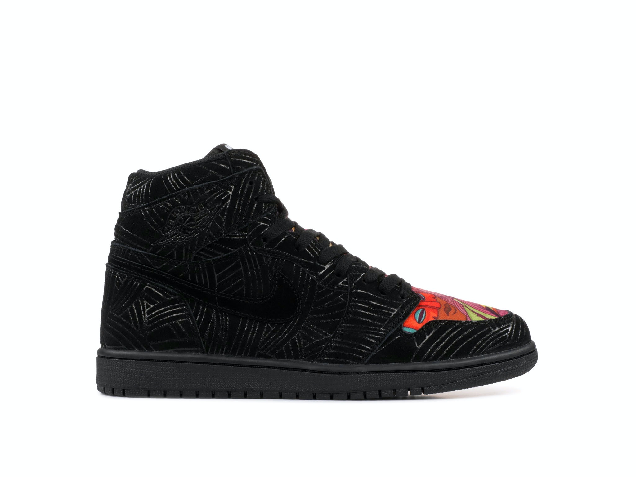 e0b9d9f5a1ced7 Shop Air Jordan 1 Retro High Los Primeros x Pomb Online