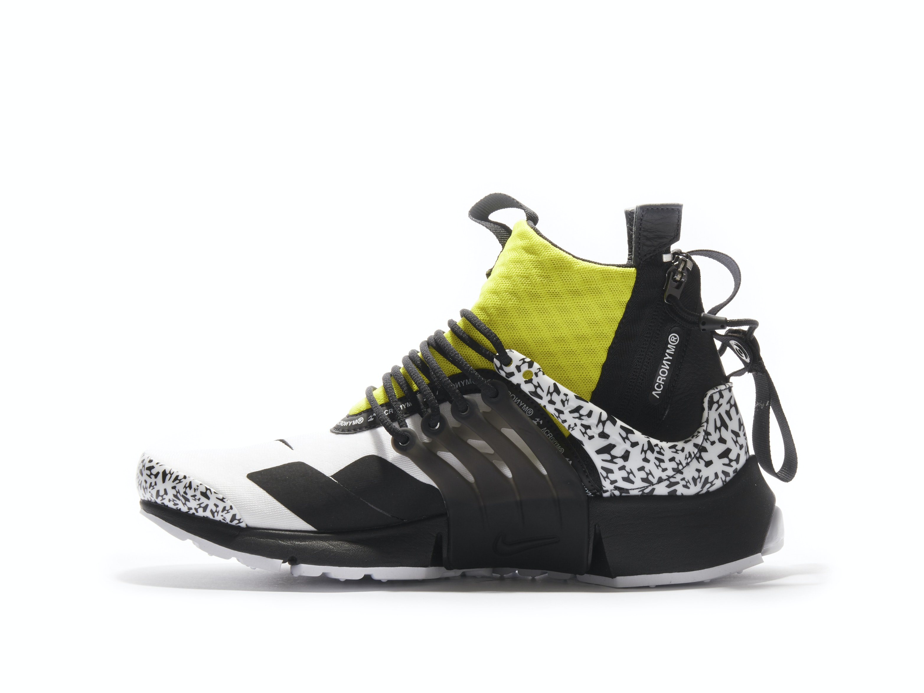 new product 23ffd 6bd8a Air Presto Mid Dynamic Yellow x Acronym. 100% AuthenticAvg Delivery Time  1-2  days. Nike   AH7832-100