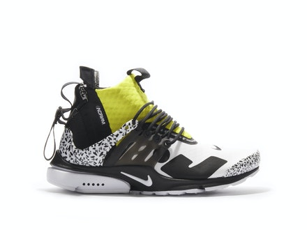 Air Presto Mid Dynamic Yellow x Acronym