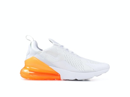 Air Max 270 White Total Orange