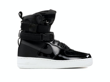 SF Air Force 1 Premium Black x Ruby Rose (W)
