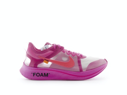 Zoom Fly SP Tulip Pink x Off-White