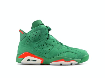 Air Jordan 6 Retro NRG Green Suede Gatorade
