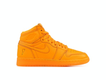 Air Jordan 1 Retro High OG G8RD GS Orange Peel
