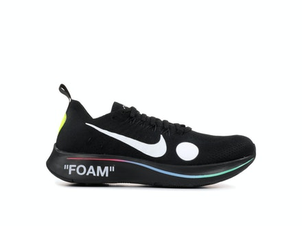 Zoom Fly Mercurial Flyknit Black x Off-White