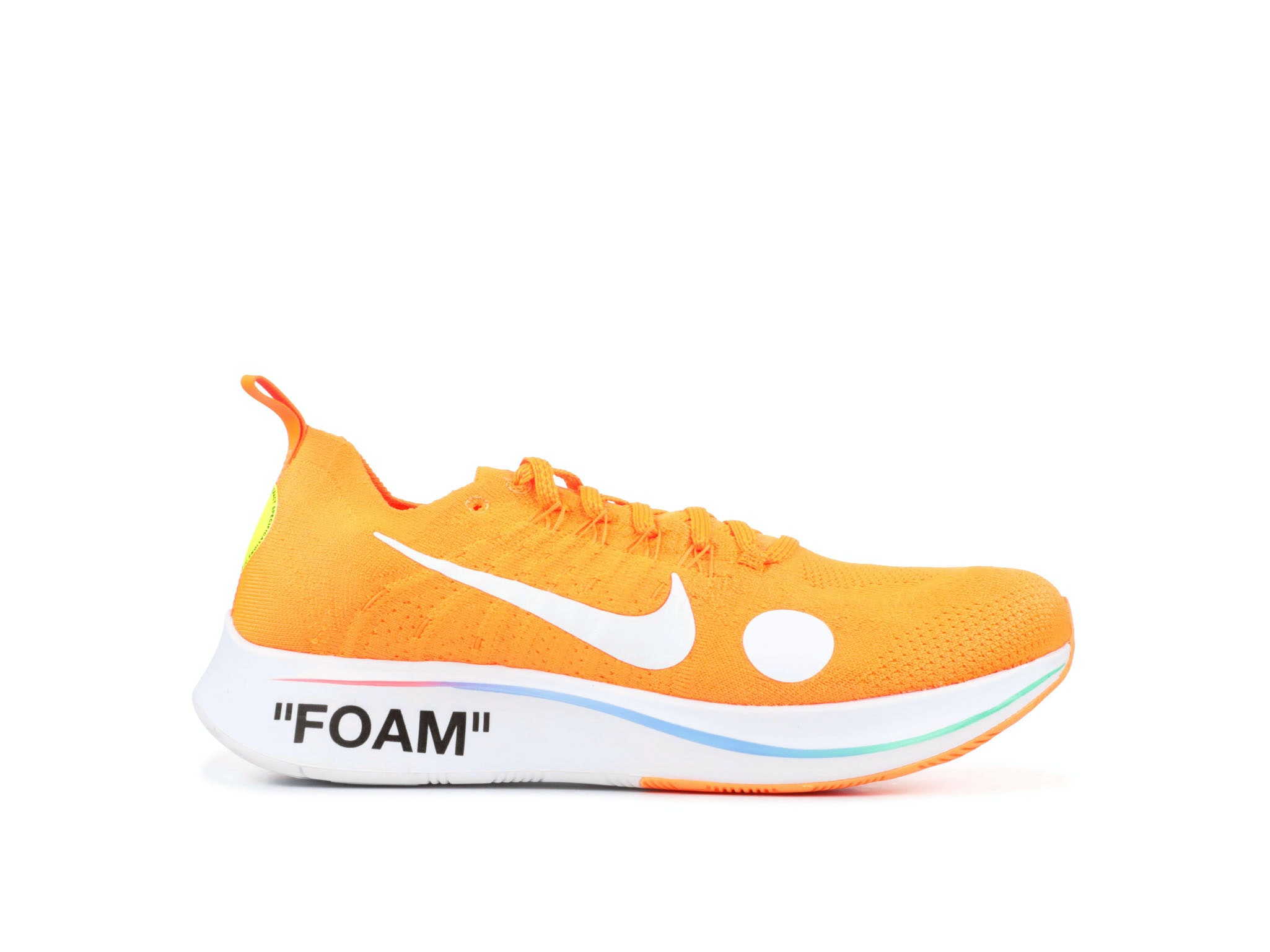 finest selection 2d314 4f6c4 Zoom Fly Mercurial Flyknit Total Orange x Off-White