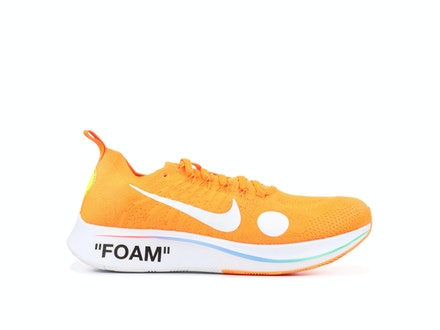 Zoom Fly Mercurial Flyknit Total Orange x Off-White