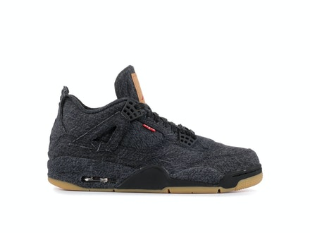 Air Jordan 4 Retro Black Denim x Levi's