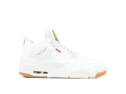 Air Jordan 4 Retro White Denim x Levi's