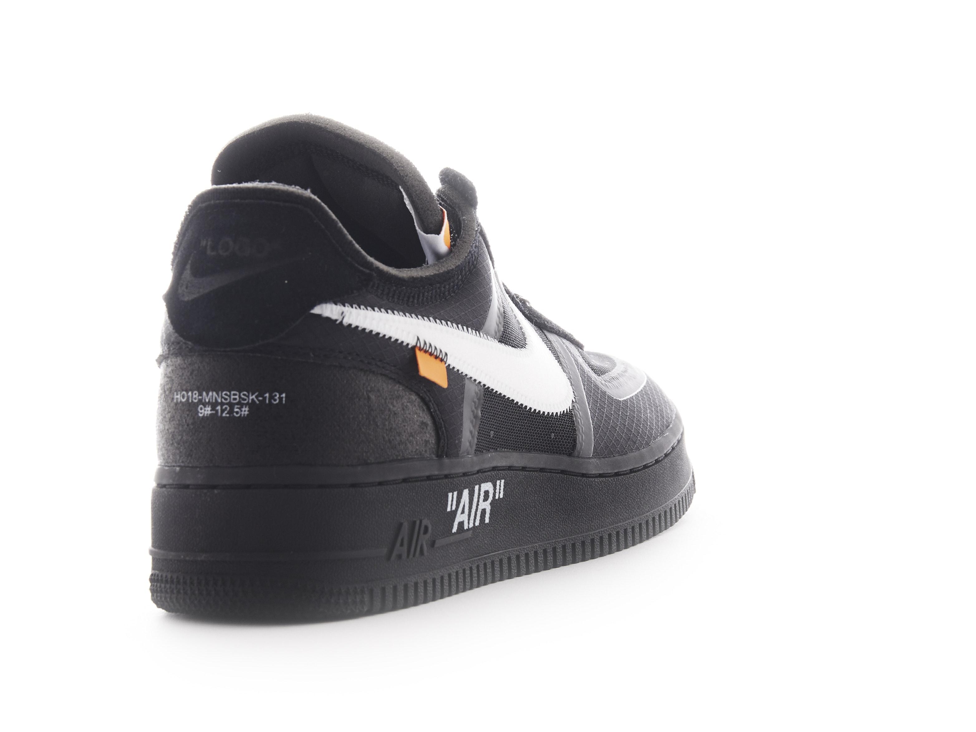 buy online 5d765 7b223 Shop Air Force 1 Low Black x Off-White Online | Laced