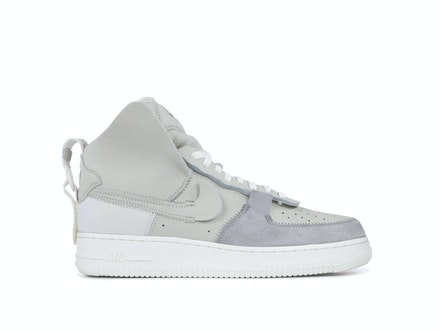 Air Force 1 High Matte Silver x PSNY