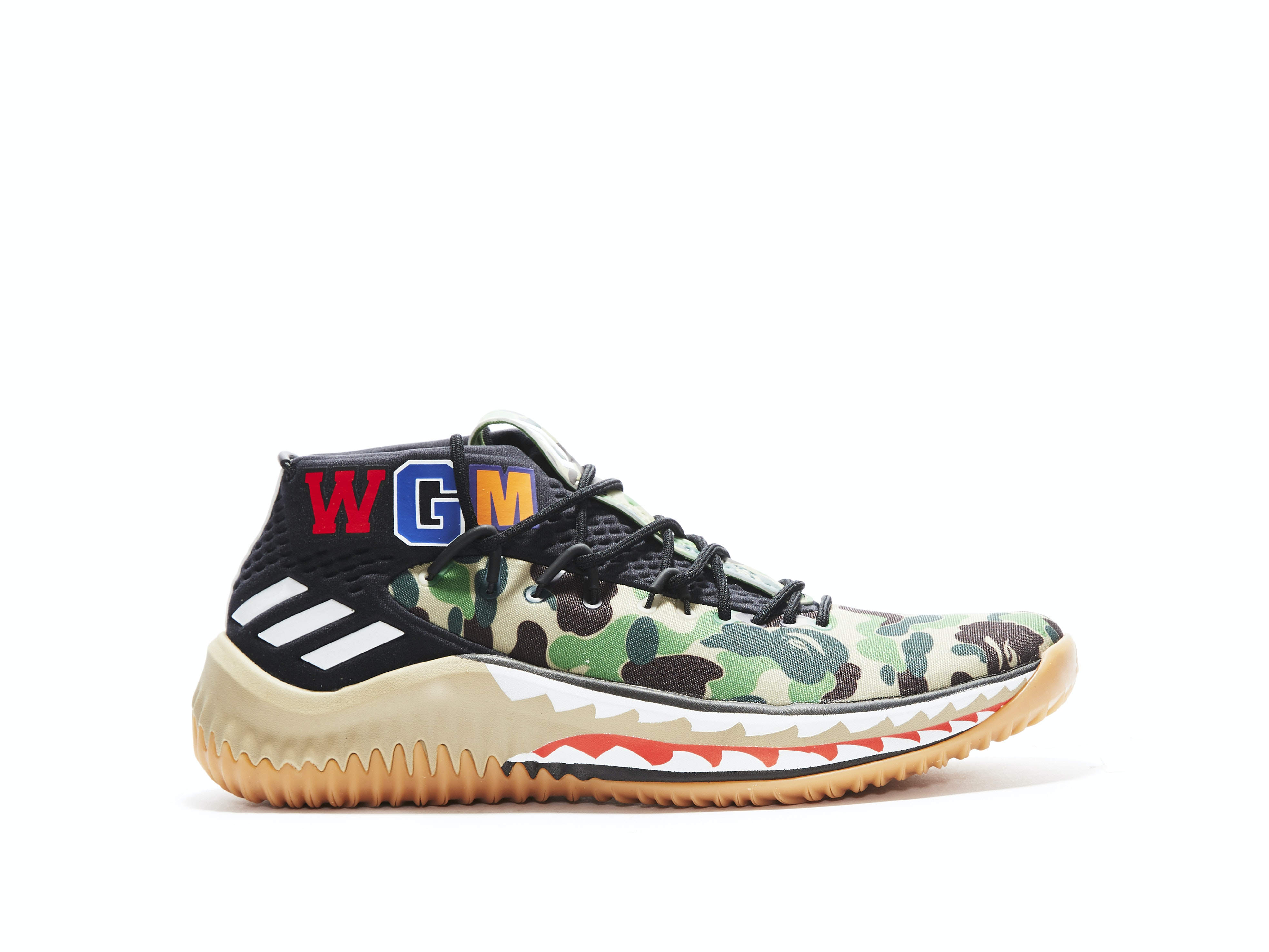 quality design 84081 1f7ee Shop Dame 4 x Bape Green Camo Online | Laced