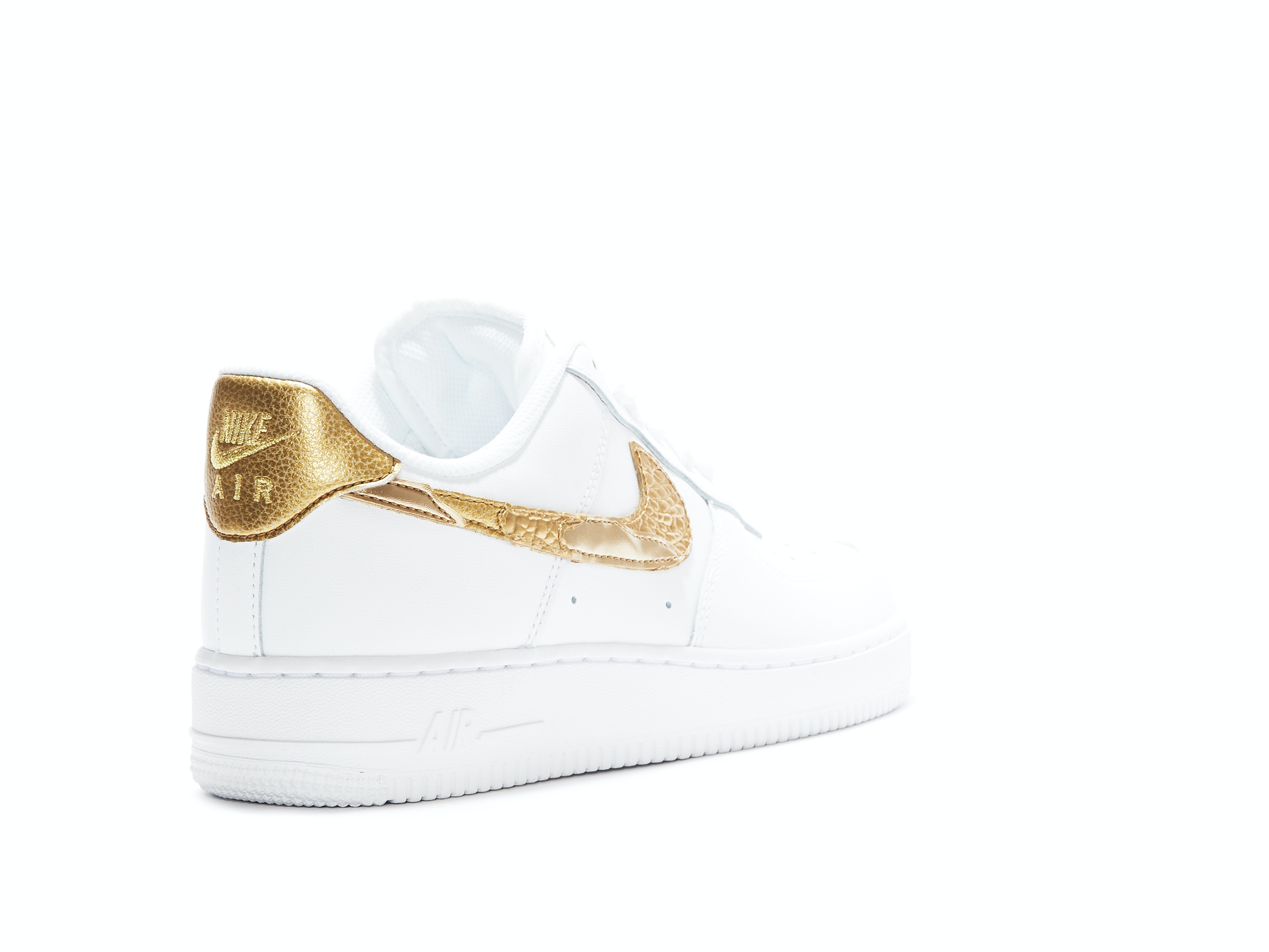 91ab1a877 Air Force 1 CR7 Golden Patchwork. 100% AuthenticAvg Delivery Time: 1-2  days. Nike / AQ0666-100