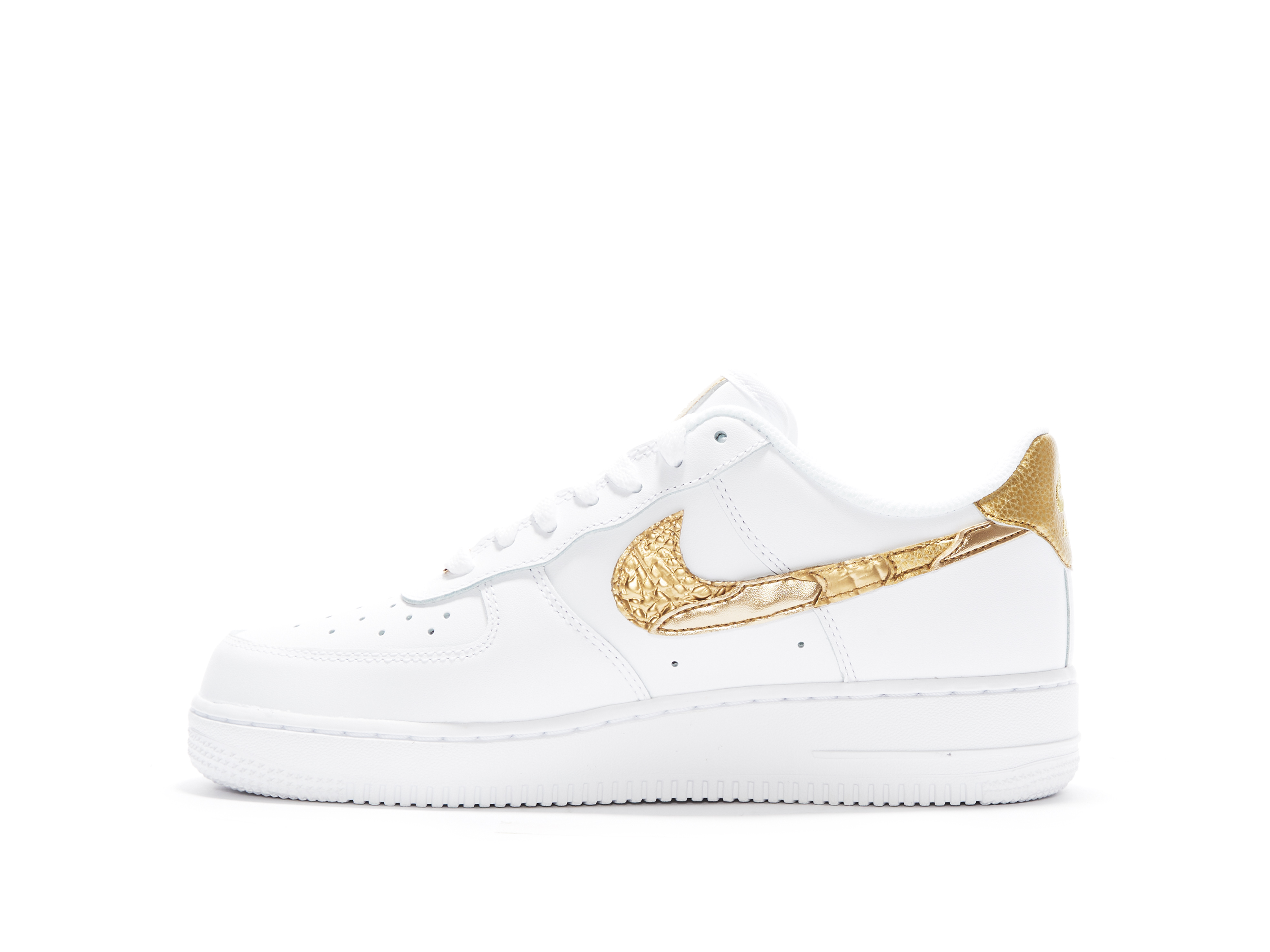Shop Air Force 1 CR7 Golden Patchwork Online Laced  Laced
