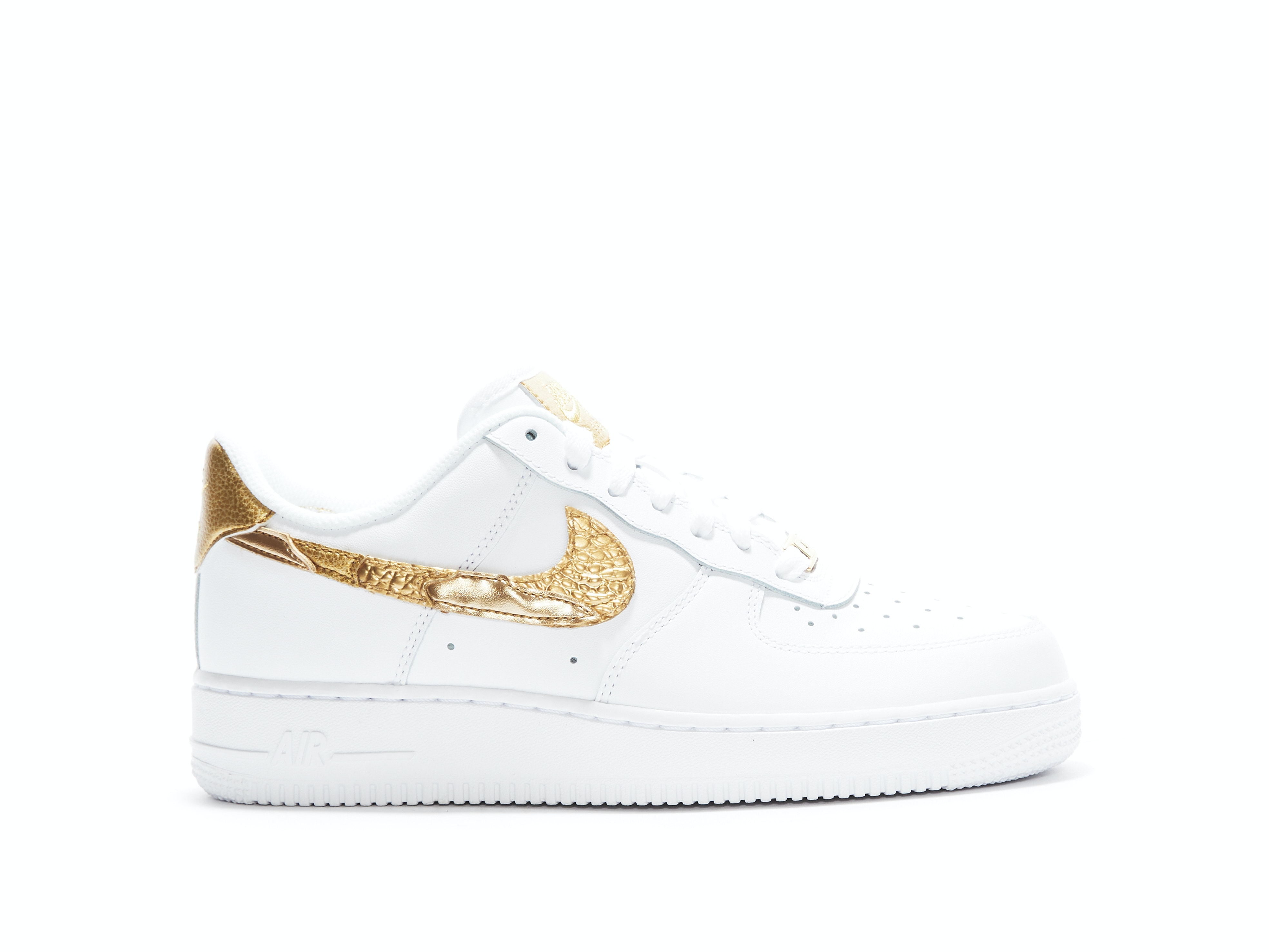 new product 01bb2 a35da Shop Air Force 1 CR7 Golden Patchwork Online   Laced