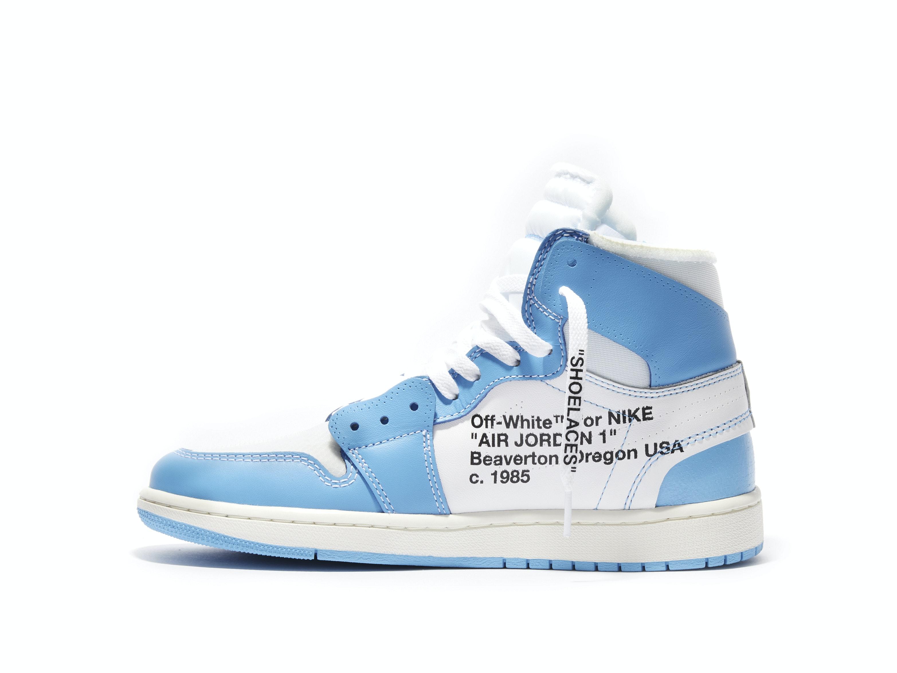huge discount 79655 95ffd Air Jordan 1 Retro High UNC x Off-White