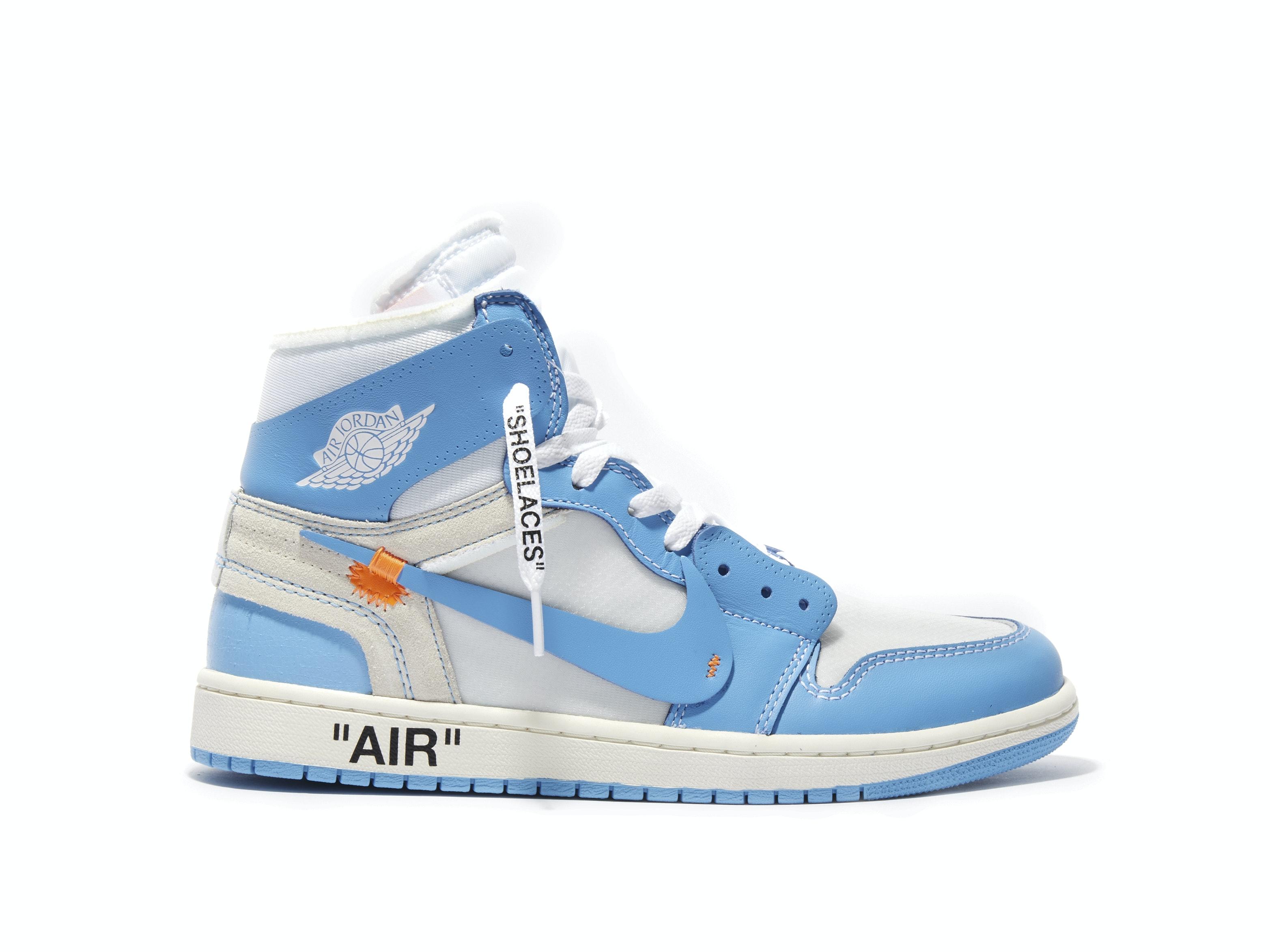 8a27980b5a6542 Air Jordan 1 Retro High UNC x Off-White. 100% AuthenticAvg ...