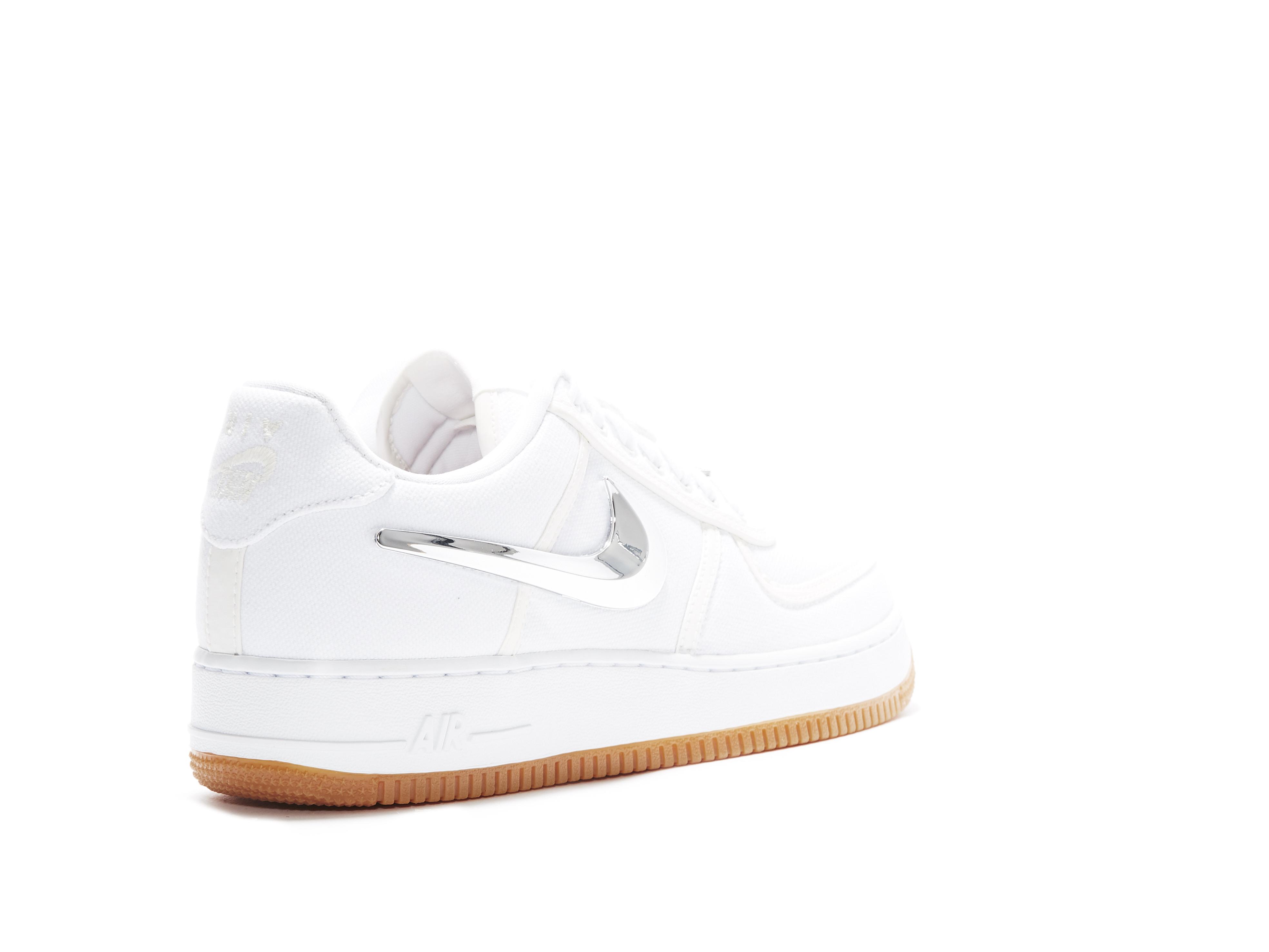 e07c56437ba217 Shop Travis Scott x Air Force 1 White Online | Laced