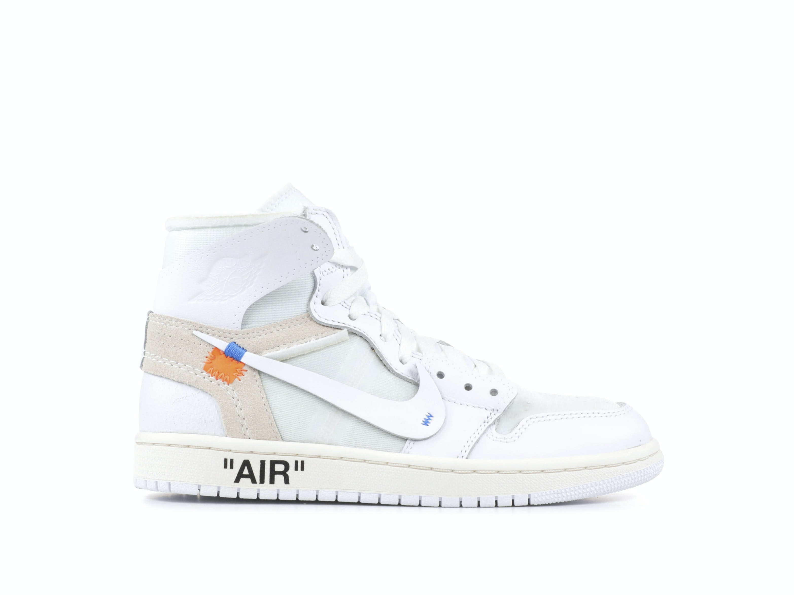 59dba831553 Shop Off-White x Air Jordan 1 NRG White (BG) Online | Laced