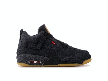 Air Jordan 4 Retro GS Black Denim x Levi's