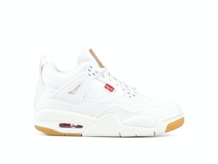 Air Jordan 4 Retro GS White Denim x Levi's