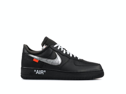 Air Force 1 2007 Black x MoMA x Off-White