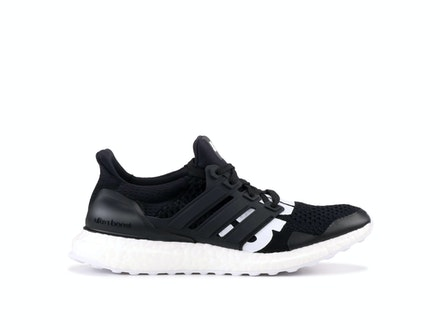 Black UltraBoost 4.0 x Undefeated