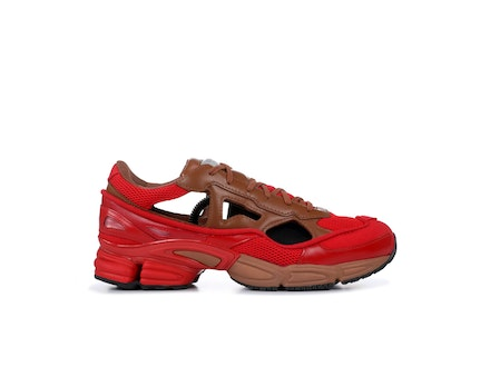 Red Replicant Ozweego Limited Edition Pack x Raf Simons