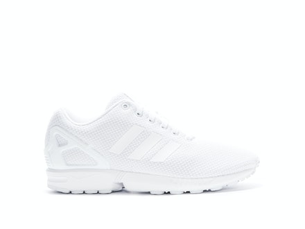 Triple White ZX Flux (W)