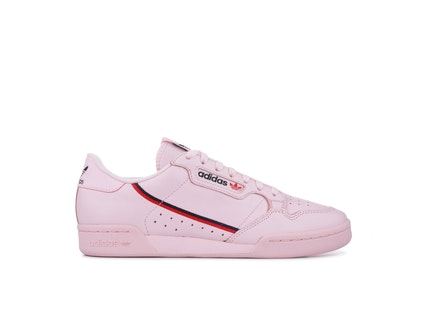 Clear Pink Continental 80