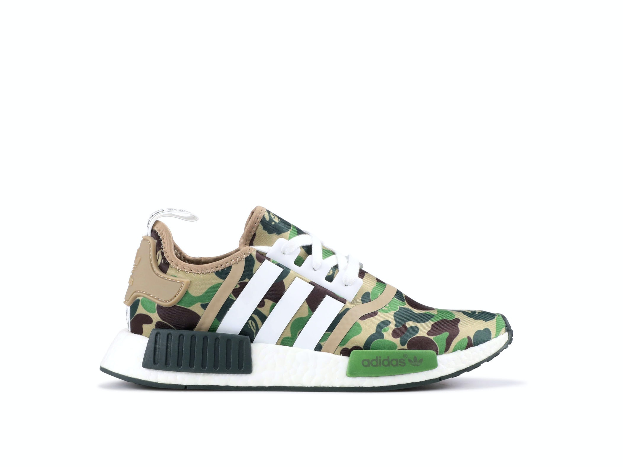 sneakers for cheap 11580 6a270 NMD R1 x Bape Green Camo