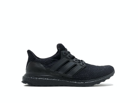 Triple Black UltraBoost 3.0