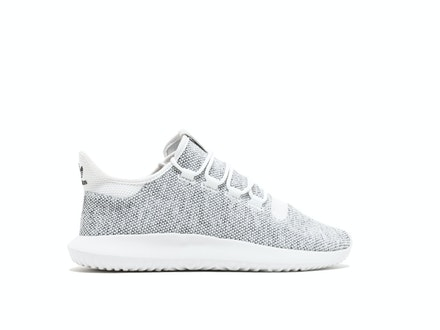 White Tubular Shadow Knit
